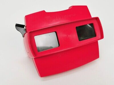 GAF Fisher Price Bildbetrachter Viewmaster View-Master 3D, rot