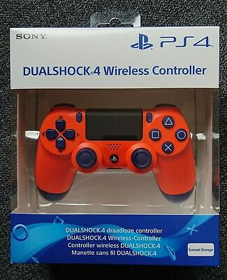 Sony Playstation 4 PS4 Controller Dualshock 4 V2 - Sunset Orange *NEU+RECHNUNG*