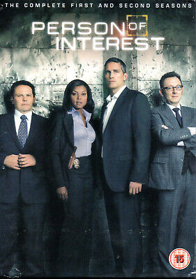 Person of Interest Complete Collection Series 1 and 2 DVD BoxSet Season 1 + 2 UK