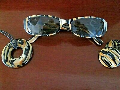 Italian Sunglasses with matching accessories