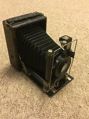 Vintage Wallace Heaton / Wollensak Universal Folding Plate Camera