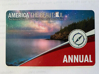 America the Beautiful, Nationalpark Pass, Annual, USA, gültig bis 31.07.2020