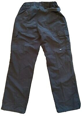 Women's 5.11 Tactical Stryke Flex Tac Cargo Pants Size 6 Inseam 30 in Navy Blue