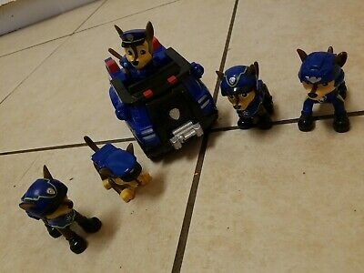 Paw Patrol Chase Figure Toy Lot