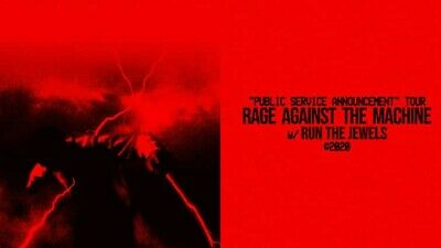 Two Rage Against The Machine tickets Madison Square Garden MSG