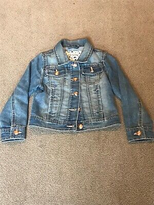girls denim jacket age 5