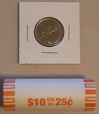 CANADA 2020 New 25 cents ORIGINAL CARIBOU Circulation coin (UNC From mint roll)