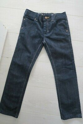 BNWOT selvedge style NEXT boys regular jeans size age 8 years (7-8 yrs 8-9 yrs)