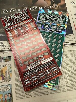 (100) California Lottery tickets $30 Second Chance Scratchers 2nd Redeemable