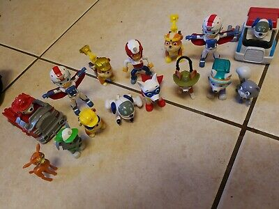 Paw Patrol Figure And Toy Lot