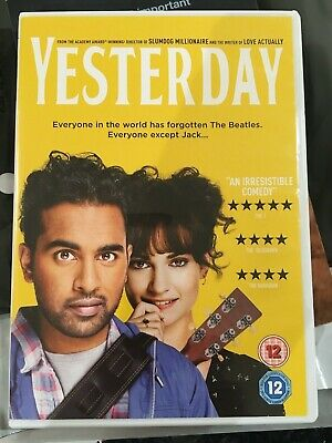 Yesterday [DVD] - watched once - perfect condition