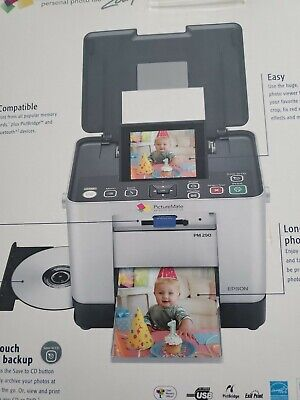Epson picture mate personal photo lab PM 290 Archive  Photos To CDs 20v-1.6A