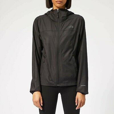 THE NORTH FACE Cyclone WindWall Hooded Jacket Womens XL Black Brand new