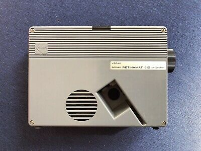 Kodak Retinamat 610 Slide Projector for 30x30mm mounted slides