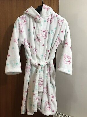 peppa pig dressing gown Age 7-8 From M&S