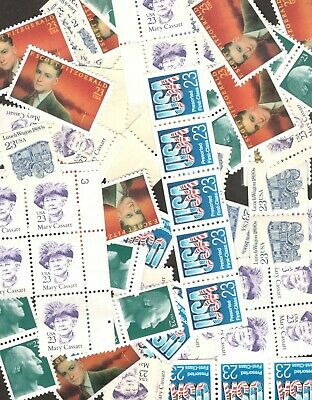 US Discount Postage Stamps 100 (23 cent Stamps) Mint Selling Below Face