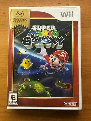 NEW Nintendo Selects Super Mario Galaxy Wii Factory Sealed