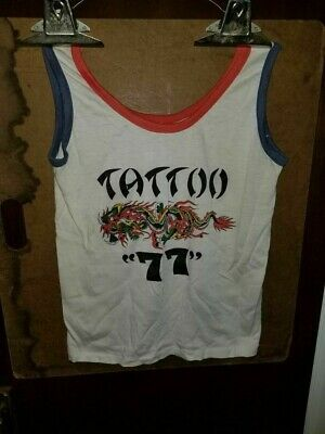 Spaulding & Rogers Tattoo 77 Tank Top Shirt