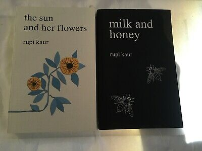 The Sun and Her Flowers And Milk And Honey Lot Of 2 By Rupi Kaur Free Shipping