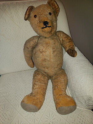 Early 20th Century American Teddy Bear (27 in. length)