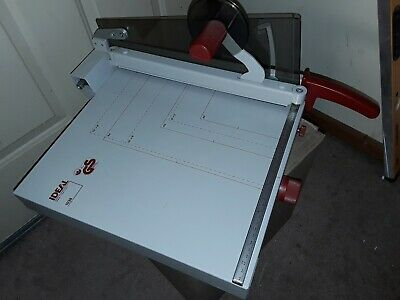 Mbm Tabletop Paper Cutter Model 1038 In Good Condition