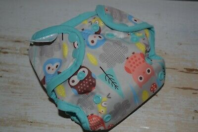 6 NEWBORN CLOTH DIAPER COVERS LOT Coveralls, Thirsties, Bummis...