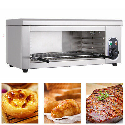 Electric 2000W Pizza Oven Stainless Steel Bake Broiler grill steak wall-mounted