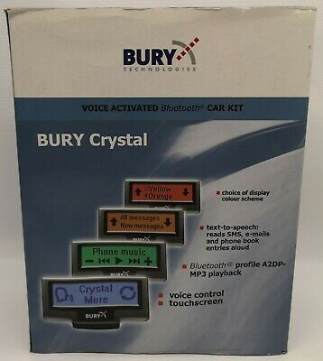Bury CC9060 CRYSTAL Bluetooth Hands Free Car Kit  NOS(New old stock)#
