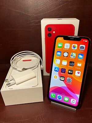 Apple iPhone 11 (PRODUCT)RED - 128GB (Ohne Simlock) Top Zustand
