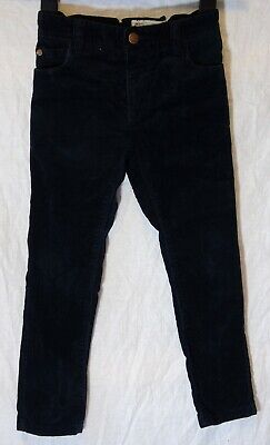 Boys Next Dark Navy Blue Cord Adjustable Waist Skinny Fit Jeans Age 6 Years