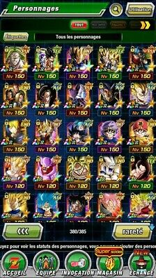 DOKKAN BATTLE compte Global 13LR payants semi fresh