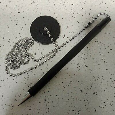 Pen On A Chain With Sticky pad