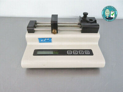 Cole Parmer Syringe Pump 780100C with Warranty SEE VIDEO