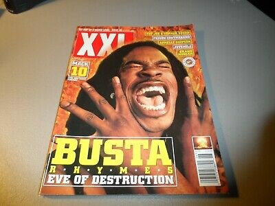 XXL Magazine Issue # 6 BUSTA RHYMES Cover