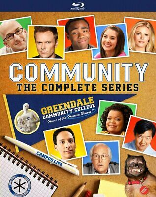 Community: The Complete Series (Blu-ray Disc, 2018)