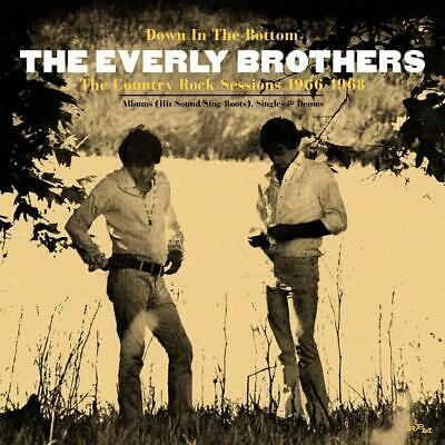THE EVERLY BROTHERS Down In The Bottom THE COUNTRY ROCK   3 CD SET (25THMAR) NEW