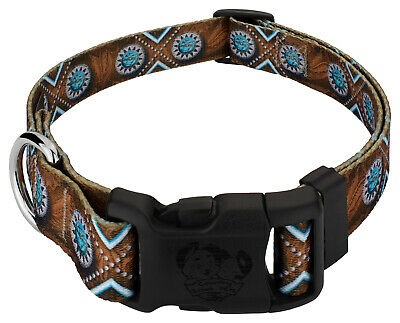 Country Brook Petz® Deluxe Saddle Up Dog Collar