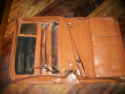 Desang Slim Leather Diabetes Kitbag in Tan UNUSED came as a present