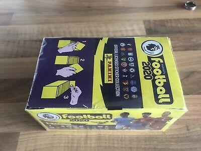 Panini Premier League  Football 2020 Stickers Complete Box 2019/2020 100 Packets