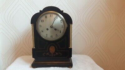 Inlaid Japy Freres French Mantel/Bracket Clock. Spares/Repair