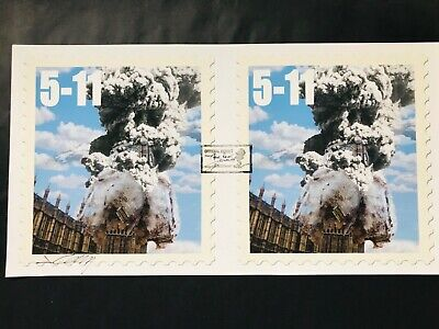 James Cauty 5-11 Double Official Reject Print Signed