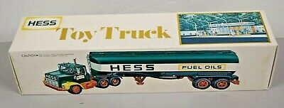 1977 Hess Truck Toy Barrell Truck w/ Original Box BRAND NEW CONDITION! AG1134