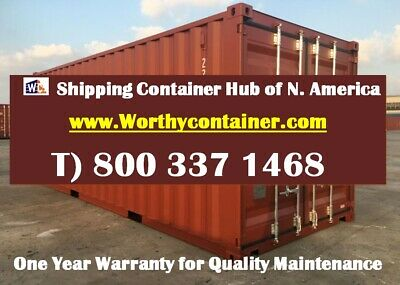 New Shipping Containers - 20' One Trip-price different upon delivery conditions