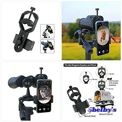 Cellphone Adapter Mount Rifle Scope Spotting Portable Phone camera Holder new