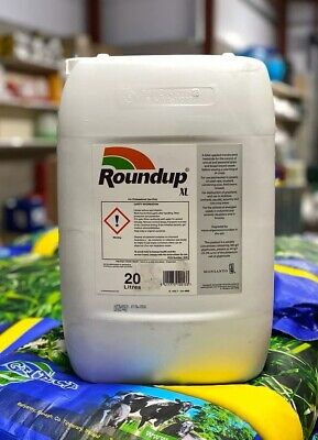 ROUNDUP XL 20L INDUSTRIAL STRENGTH WEED KILLER 360g/L glyphosate+ FREE GLOVES