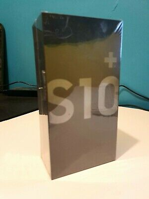 Samsung Galaxy S10 PLUS 128G Prism Black BRAND NEW SEALED BOX - Vodafone network