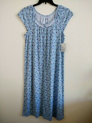 Msrp 36.00 Fantastic Croft & Barrow Extra Soft Longnightgown - Size Small