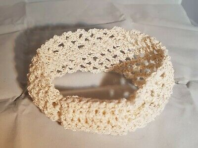 Crochet Headband Girls 0-6 months