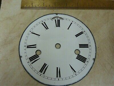 "Good Antique Ships Clock ????  6"" Heavy Enamel Dial-  -- Free Uk Post  (Sc)"