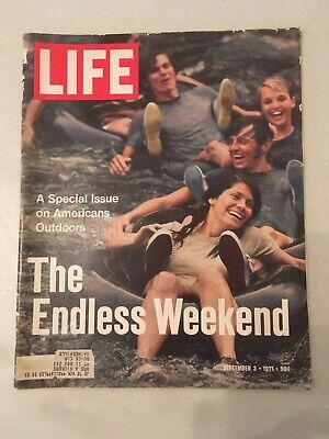 Life Magazines-1971-1972-9 Issues